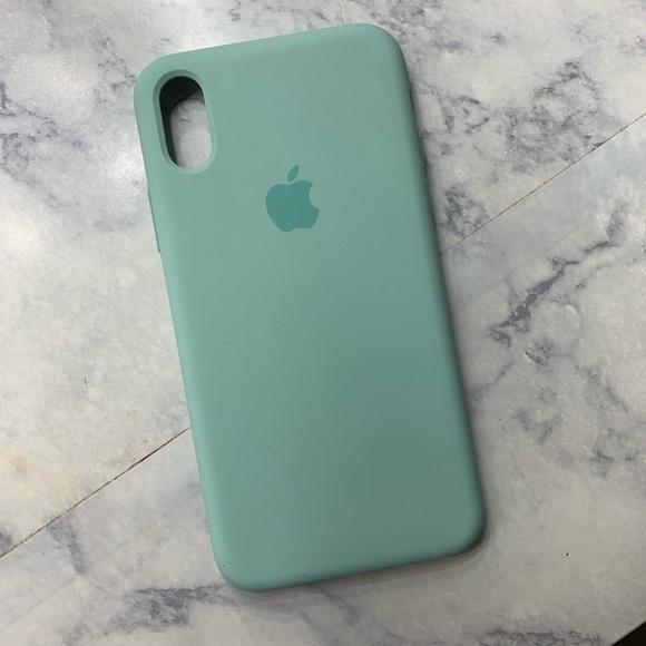 new arrival 1e4bb 0ffbd Marine Green IPhone X Case